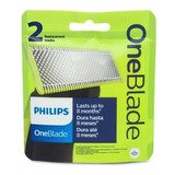 Philips Repuesto  Oneblade X 2 Cuchillas Cartucho One Blade