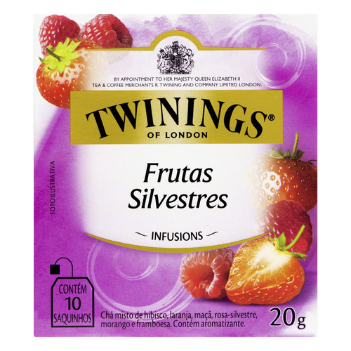 Chá Twinings Frutas Silvestres Em Sachê 20 G 10 U