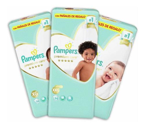 Pampers Premium Care M / G / Xg / Xxg Mes Consumo X 1unid