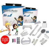 Set Deportivo 26 En 1 Nintendo Wii Tenis Golf Volante Etc.