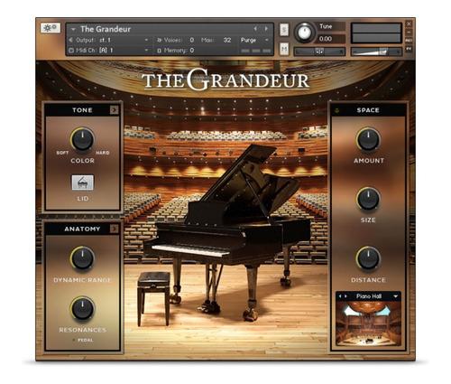 The Grandeur - Piano Para Kontakt - Win / Mac Vst