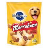 Petisco Para Cães Adultos Recheio Carne Pedigree Marrobone Pouch 500g