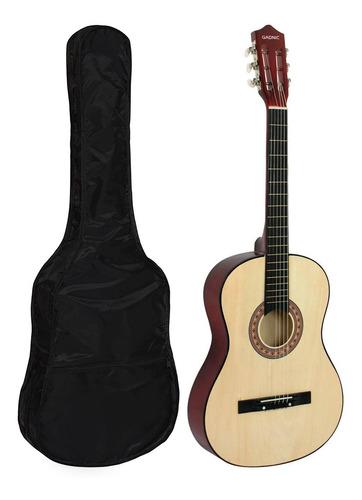 Guitarra Estudio Criolla Madera Gadnic + Estuche Transporte