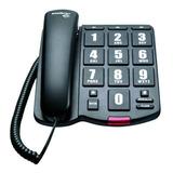 Telefone Fixo Intelbras Tok Fácil Preto
