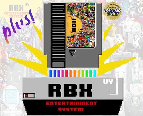 Consola Retro Rbx Plus + De 13600 Juegos De 30 Consolas-nes