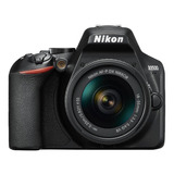 Nikon Kit D3500 + Lente 18-55mm Vr Dslr Color  Negro