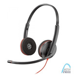 Headset Plantronics Blackwire C3220 Usb, Remplazo Audio 628