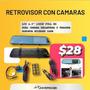 Retrovisor Tipo Espejo Con Camara Delantera Y De Reversa Seat Cordoba