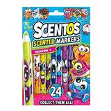 Scentos Marcadores C/aroma 24 Unid Int 40722 Original