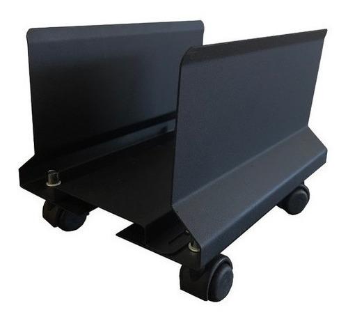 Carro Porta Cpu Metálico Regulable En Ancho