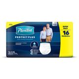 Pañales Para Adultos Descartables Plenitud Ropa Interior Protect Plus G/xg X 16u
