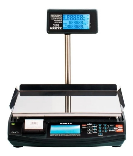 Balanza Electronica Kretz Aura 30 Kg Con Impresor - Ticket