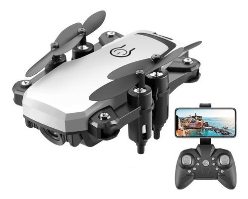 Mini Drone Remote Control Cámara 4k Wifi Fpv 2.4ghz Lf606