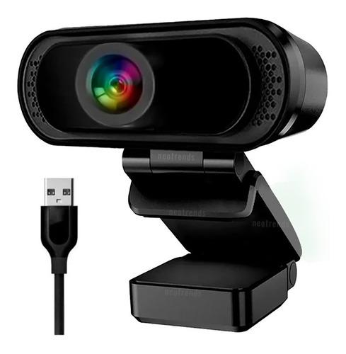 Camara Web Webcam Usb Pc Notebook Microfo Mic Plug Play