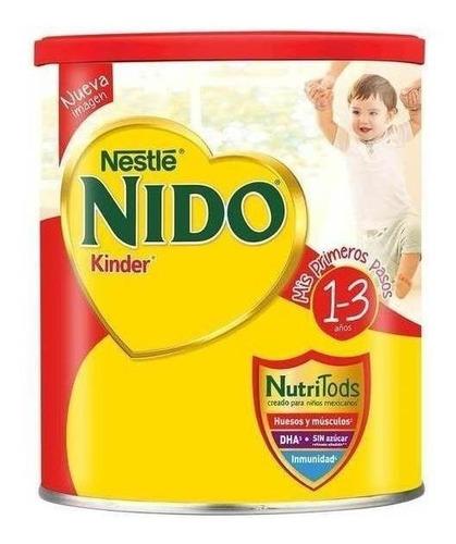 Fórmula Infantil En Polvo Nestlé Nido Kinder En Lata 2.5kg