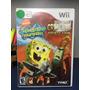Bob Espoja Squarepants - Jogo De Nintendo Wii Seminovo Original