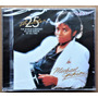 Cd Michael Jackson - Thriller - 25 Anos - Cd Novo Lacrado Original