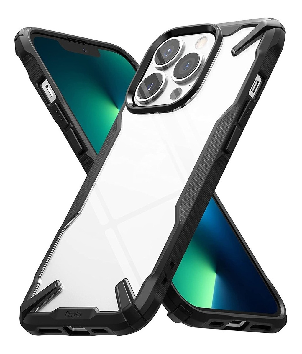 FUNDA RINGKE FUSION X IPHONE 13 PRO MAX NEGRO
