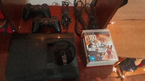 Vendo O Permuto Por Ps4, Playstation 3 Super Slim Black.
