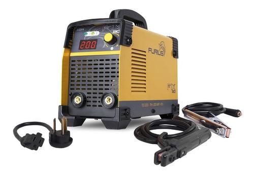 Fix 201 200 Amp Soldador Inversor 200 A 110/220  Bi Voltaje