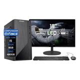 Computador Completo Fácil Intel Core I5 08gb Ddr3 Ssd 480 Gb
