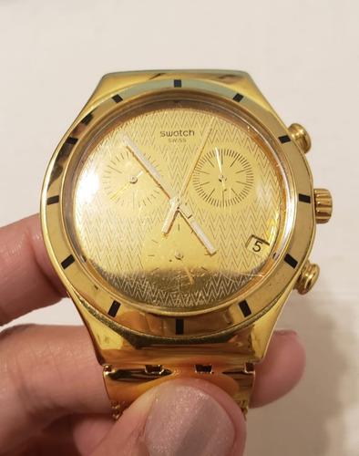 Reloj Swatch Irony Gold Ycg410gb