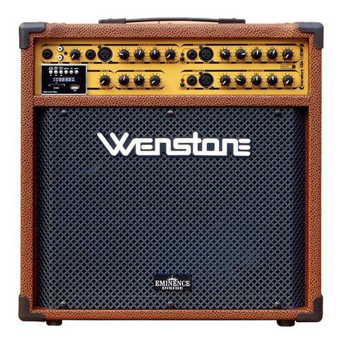 Amplificador Multiple Wenstone Kba112e Mp3 Parlante Eminence