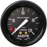 Presion De Aceite Orlan Rober Classic 52mm 120lbs