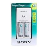 Cargador Sony Aa/aaa + 2 Pilas Aa 1000mh Recargable