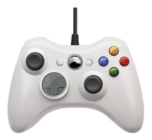 Control Joystick Pc Mando Cableado Usb