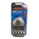 Vte 200 Cargador Bateria 9v 4 Pila Aa Aaa  Recargable Vapex