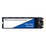 Disco Sólido Interno Western Digital  Wds100t2b0b 1tb Azul