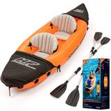 Kayak Inflable 2 Personas Bestway Gomón + Remos