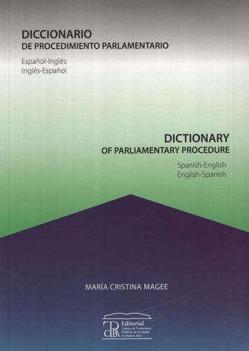 Diccionario De Procedimiento Parlamentario