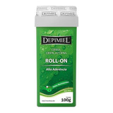 Cera Depilatória Depimiel Alta Aderência Roll-on Refil 100g