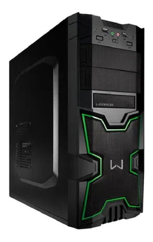 Gabinete Gamer Warrior Multilaser Ga154 Pronet Uruguay