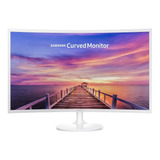 Monitor Gamer Curvo Samsung C32f391fw Led 31.5   Blanco Alto Brillo 100v/240v