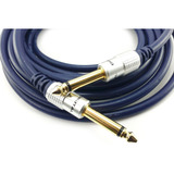 Cable De Guitarra Plug 1/4 Mono 6.35mm 1.8 Metros