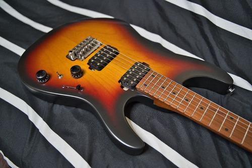 Guitarra  Ibanez Az2402 Tff Prestige Tri Fade Burst Flat