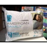 Almohadas Cannon ( Set De 2 ) American Family 50x70 Cm