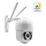 Speed Dome Câmera Ip Wifi Sistema Icsee Infravermelho Sd