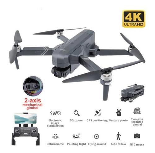 Dron Sjrc F11 Pro 4k Gps + 1,5 Km 5g Wifi + Maletín