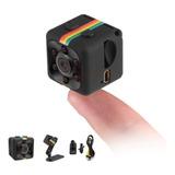 Sq11 Mini Cámara Hd 1080p Pequeña Espia Vision Nocturna