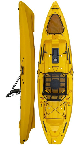 Kayak Hidro2eko Mako 110 Std Amarillo - Kayaks Feelfree