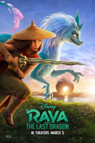 Película Disney + Raya Y El Último Dragón Audio Latino 1080p