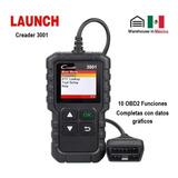 Escaner Launch Creader 3001 Automotriz Obd2 Multimarca Motor