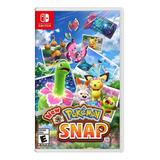 New Pokémon Snap Standard Edition Nintendo Switch  Físico