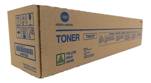 Toner Konica Tn615y Color Amarillo Original