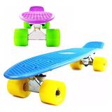 Skate Longboard Penny Patineta Aluminio Ruedas Pu - El Rey