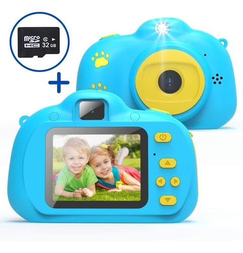 Cámaras De Vídeo Digitales Juguetes Para Niños+micro Sd 32gb
